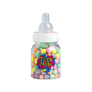 Baby Bottle Filled with Rainbow 50G - Includes Colour Sticker