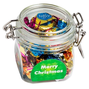 Christmas Chocolate Eclairs in Canister 100G - Includes Colour Sticker, From $4.9