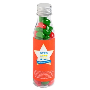 Christmas Jelly Beans in Soda Bottle 100G - Includes Colour Sticker, From $2.45