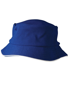 Pique mesh with sandwich trim bucket hat, From $4.92