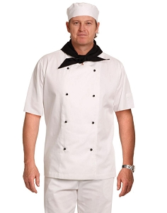 Chef's Jacket Short Sleeve