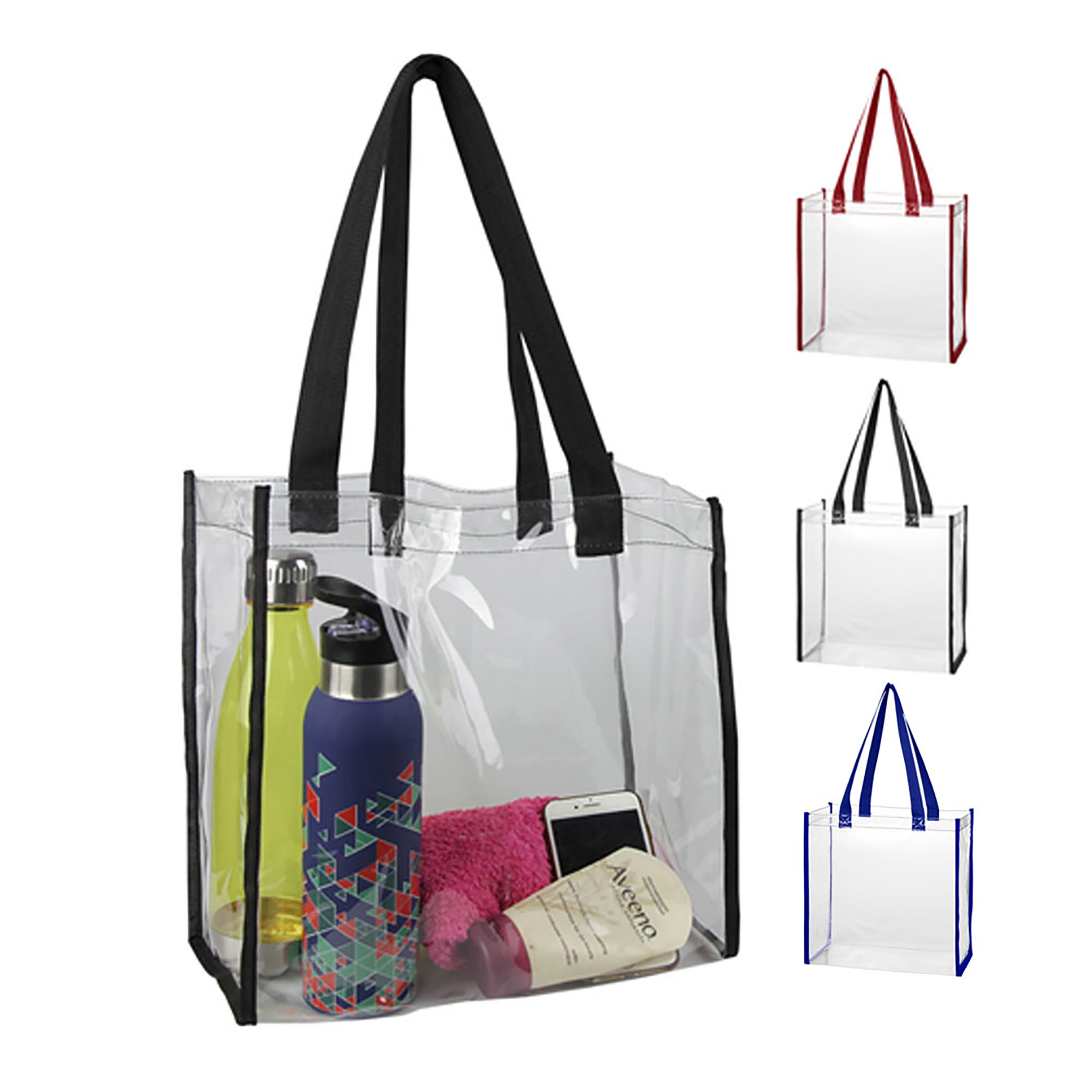 CLEAR TOTE BAG - 1 Colour Print, From $2.33