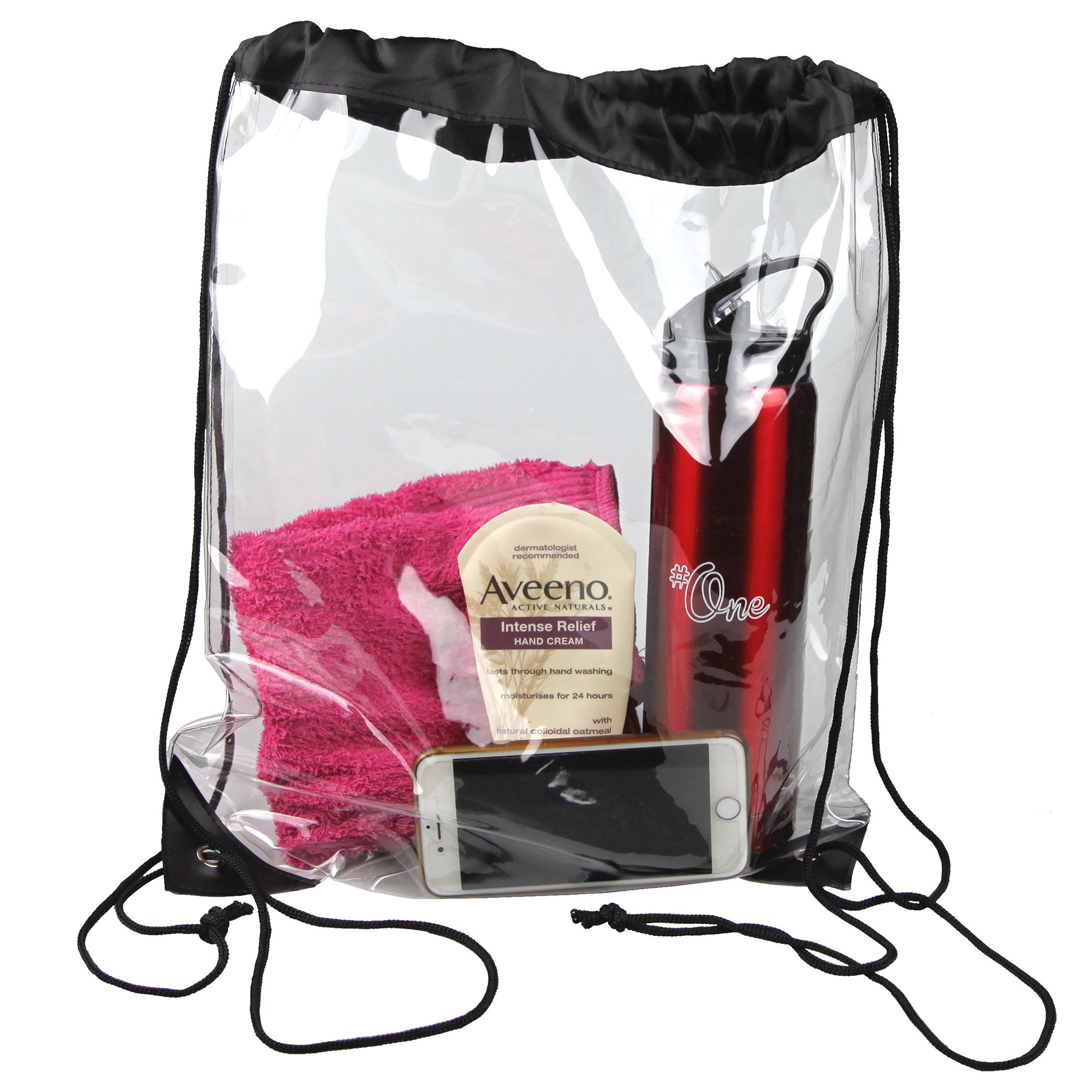 CLEAR BACKPACK - 1 Colour Print, From $2.46