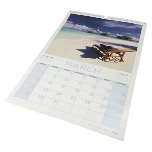 A3 wiro bound wall calendar, From $8.06