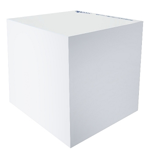 Stuk Note Cube 70x70 2 Colour 630 Leaf-No Printing On Sides Of Cube