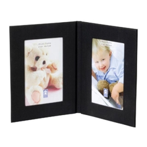 Fabric Twin Photo Frame - Includes a 1 Colour Print, From $7.73