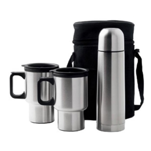 Car Mug/vacuum Flask Set - Includes a 1 Colour Print, From $19.4