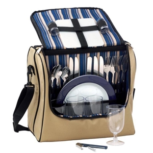 Adventure 4 Setting Picnic/cooler Bag - Includes a 1 Colour Print, From $49.7