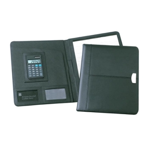 Essex A4 Leather Conference Folder - Includes a 1 Colour Print, From $18.2