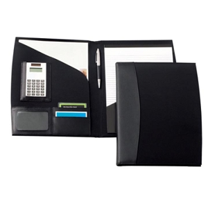 Madison Leather / Microfibre A4 Conference Folder - Includes a 1 Colour Print, From $17.4