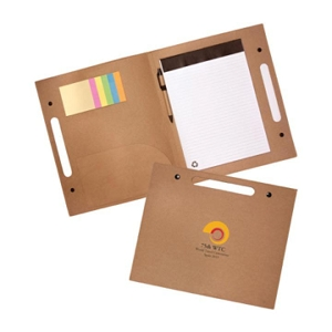 Enviro Folder with Pen - Includes a 1 Colour Print, From $5.97