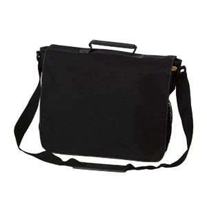 Eco 51% Recycled Flap Over Satchel - Includes a 1 Colour Print, From $18.6
