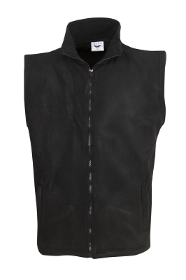 Full-zipped Polar Fleece Vest