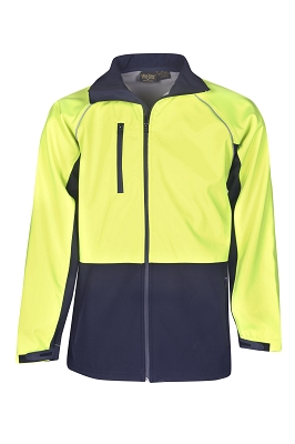 Hi Vis Soft Shell Jackets, Day Use
