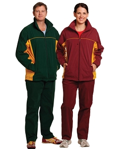 Unisex microfibre sports trackpants