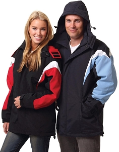 bathurst tri-color jacket with hood, From $57.3