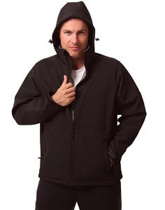Men's Softshell Full Zip Hoodie, From $49.5