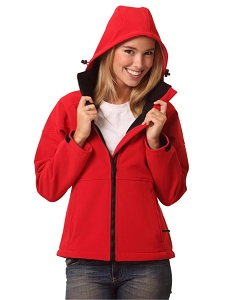 Ladies Softshell Full Zip Hoodie, From $48.2