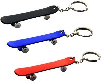 Skateboard Key Ring - Includes laser engravd logo, From $0.86