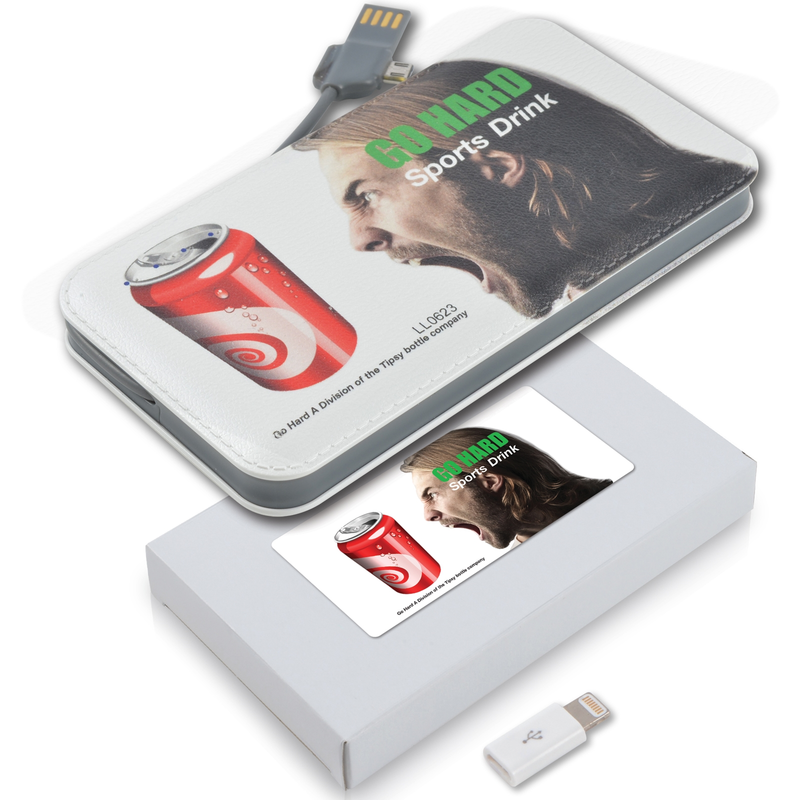 Extreme Power Bank - Includes a 1 colour printed logo, From $29.7