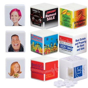 White Cube Breath Mints - Includes a full colour logo, From $1.04