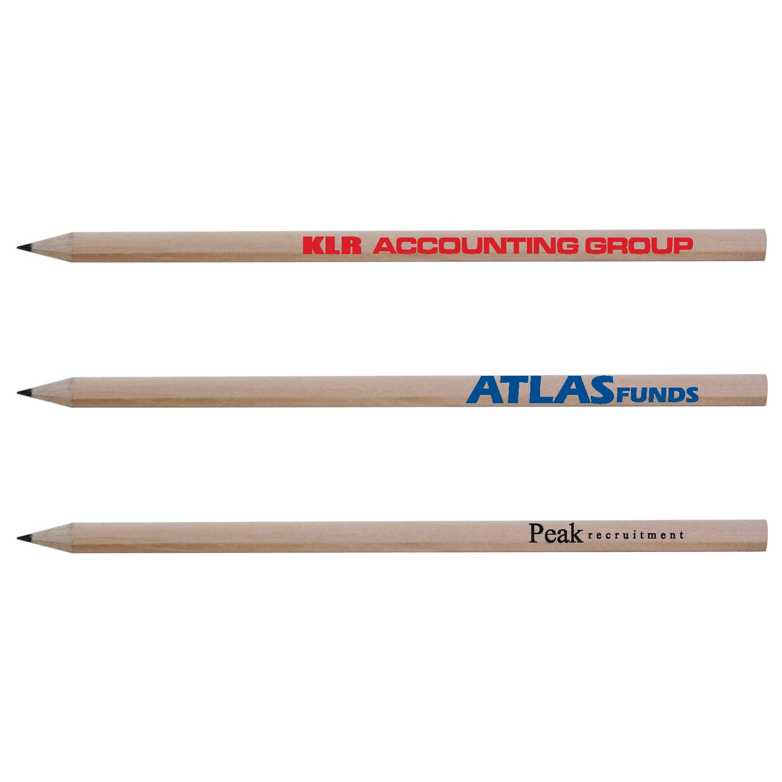 Sharpened Full Length Pencil - Includes a 1 colour printed logo, From $0.22