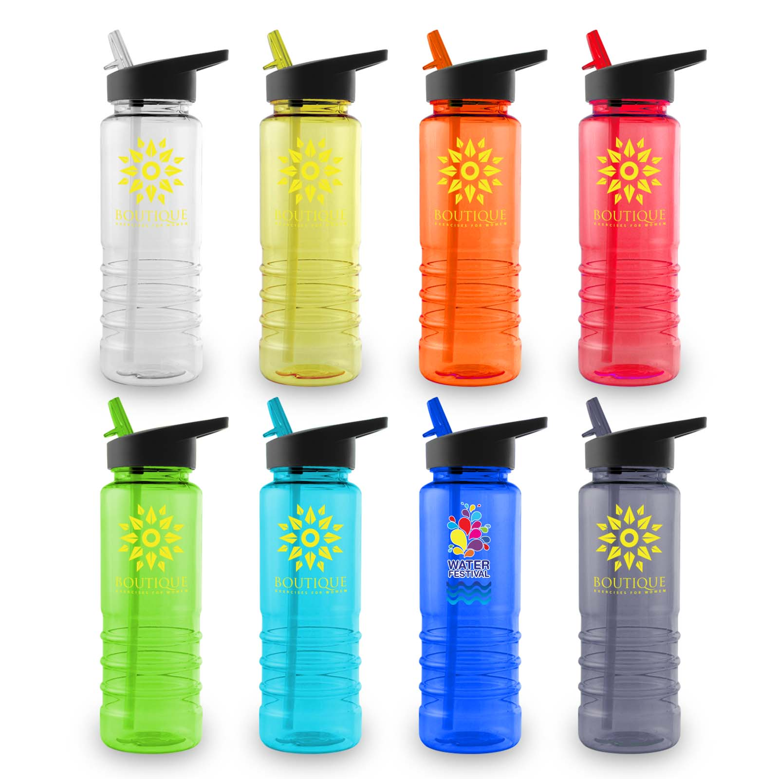 Tahiti Water Bottle - 1 Col 1 Pos Print