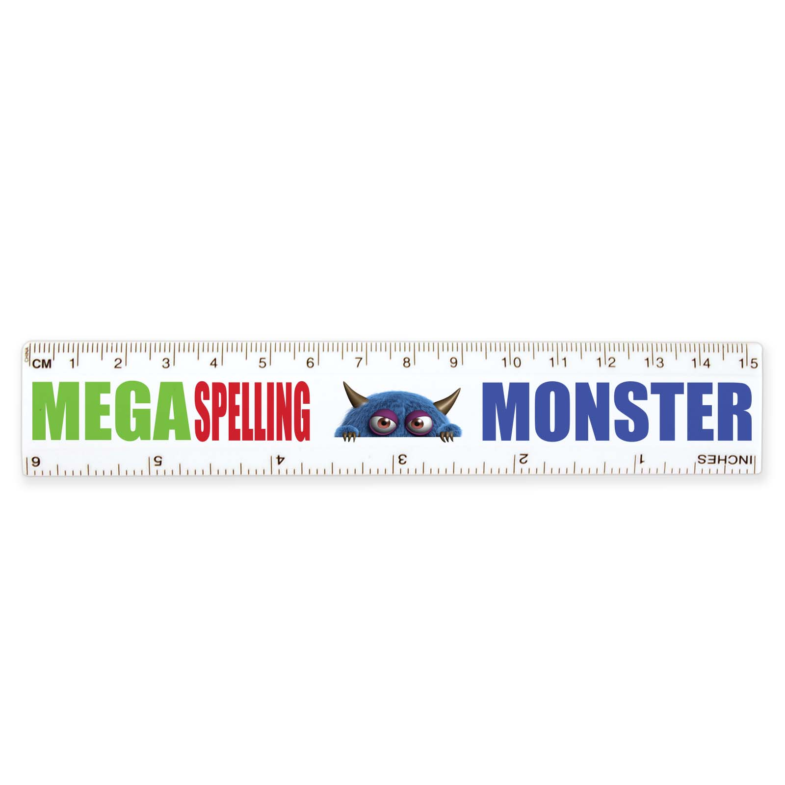 Plastic Ruler 15cm - Includes a 1 colour printed logo, From $0.47
