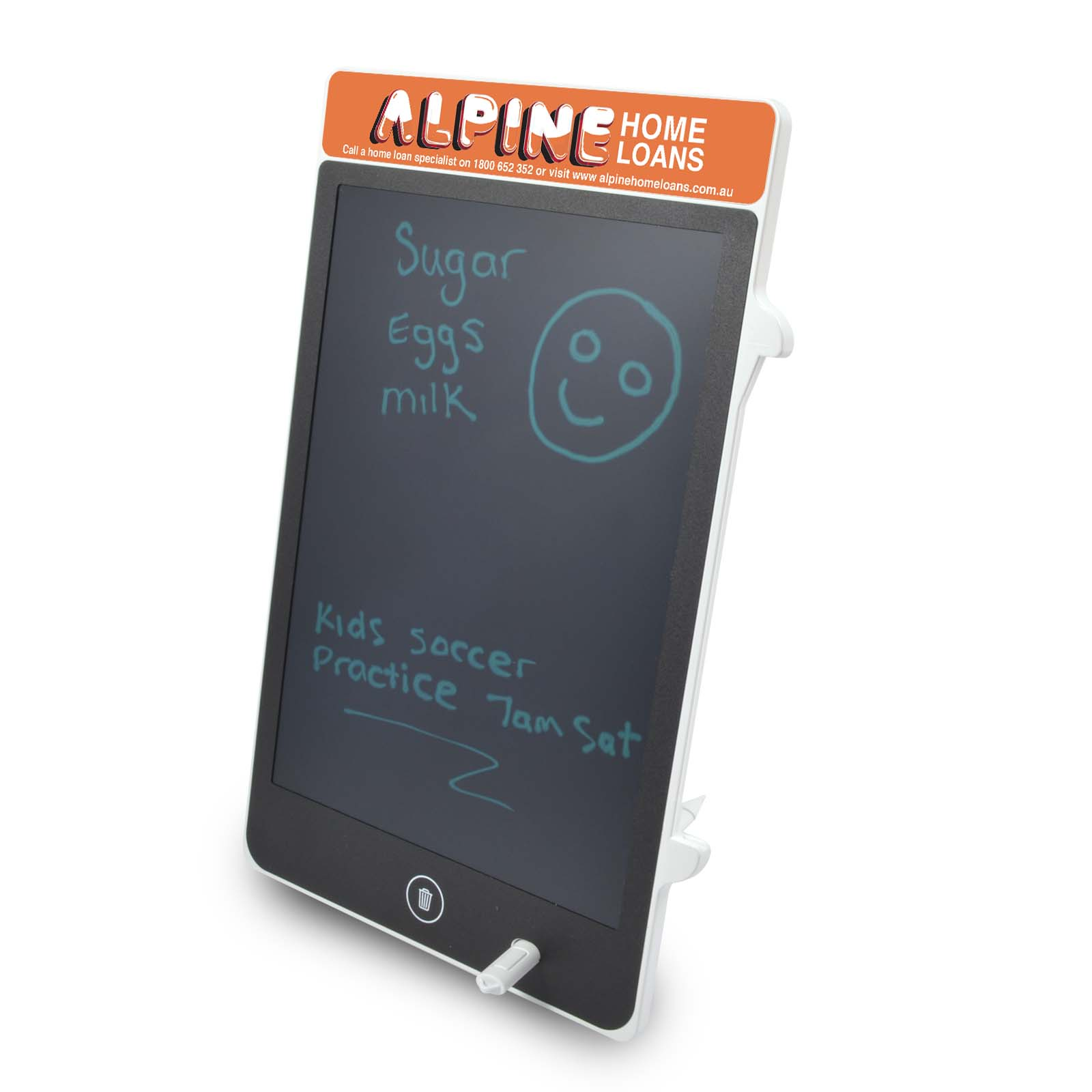 Zoom LCD Writing Tablet - 1 Col 1 Pos Print