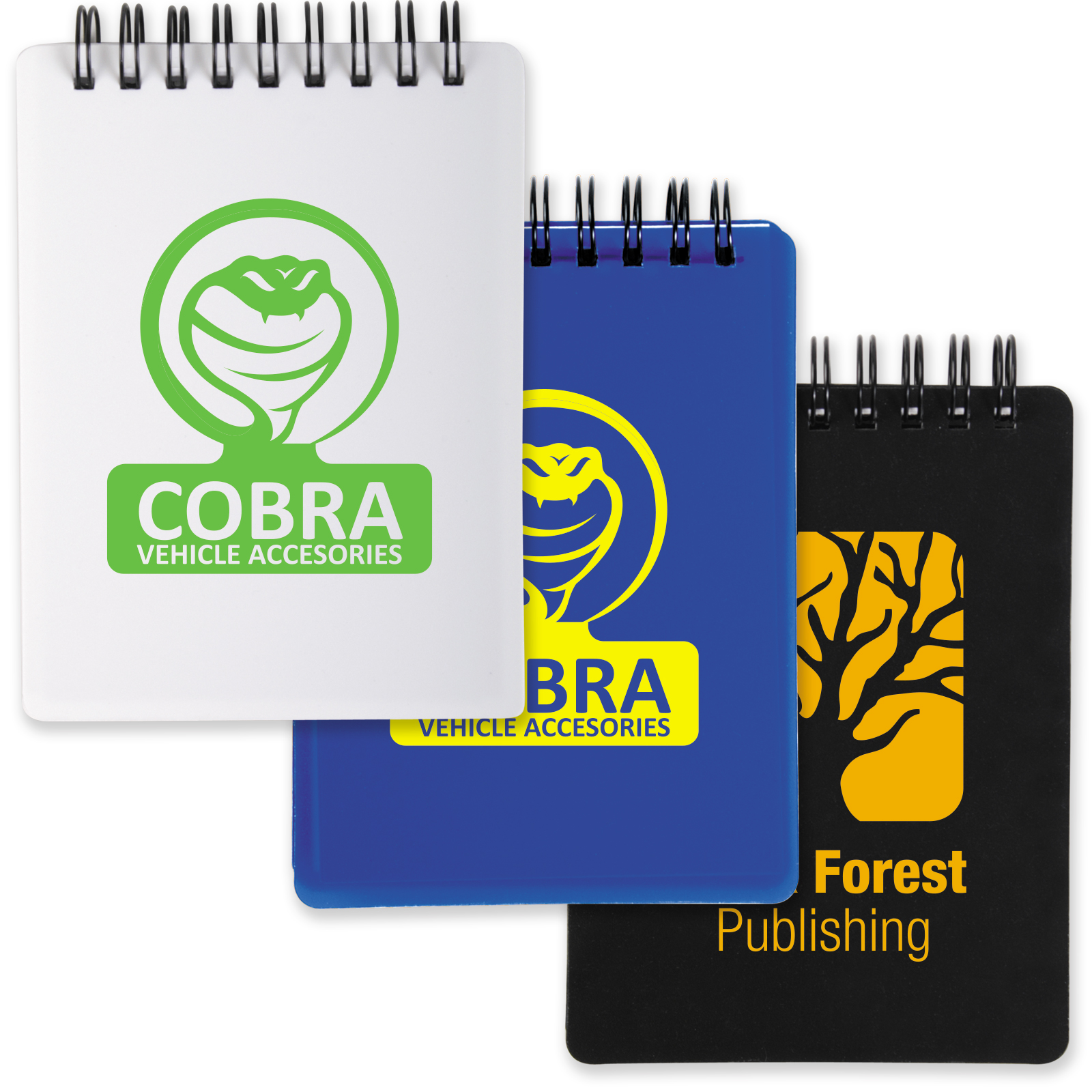 Tradesman Pocket Spiral Notebook - Includes a 1 colour printed logo, From $1.56