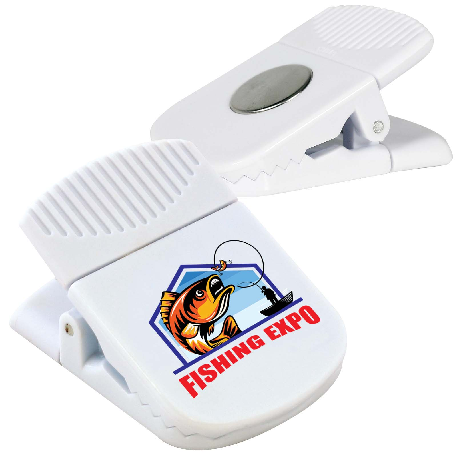 Croc Magnetic Clip - Includes a 1 colour printed logo