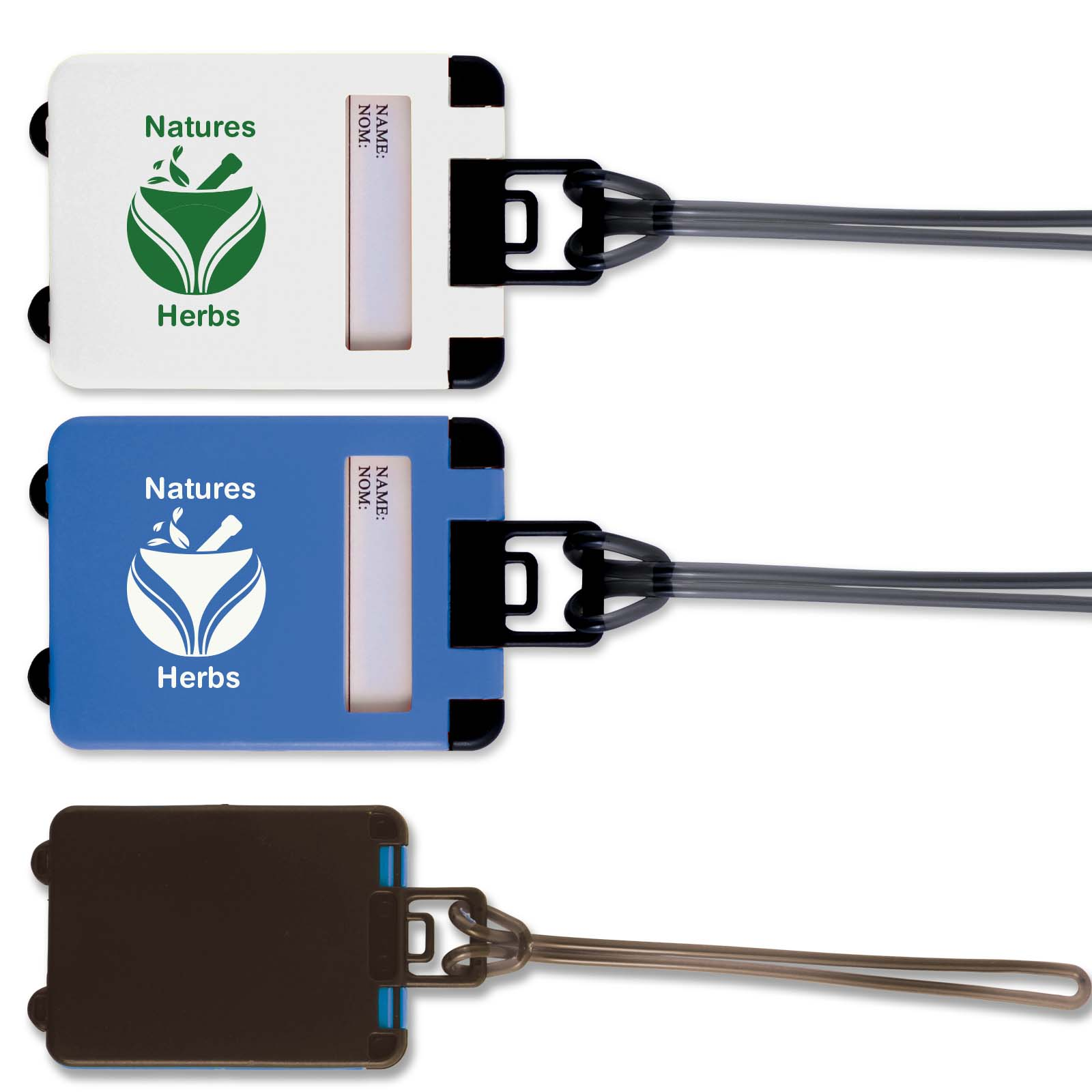 Suitcase Luggage Tag - Includes a 1 colour printed logo, From $0.97