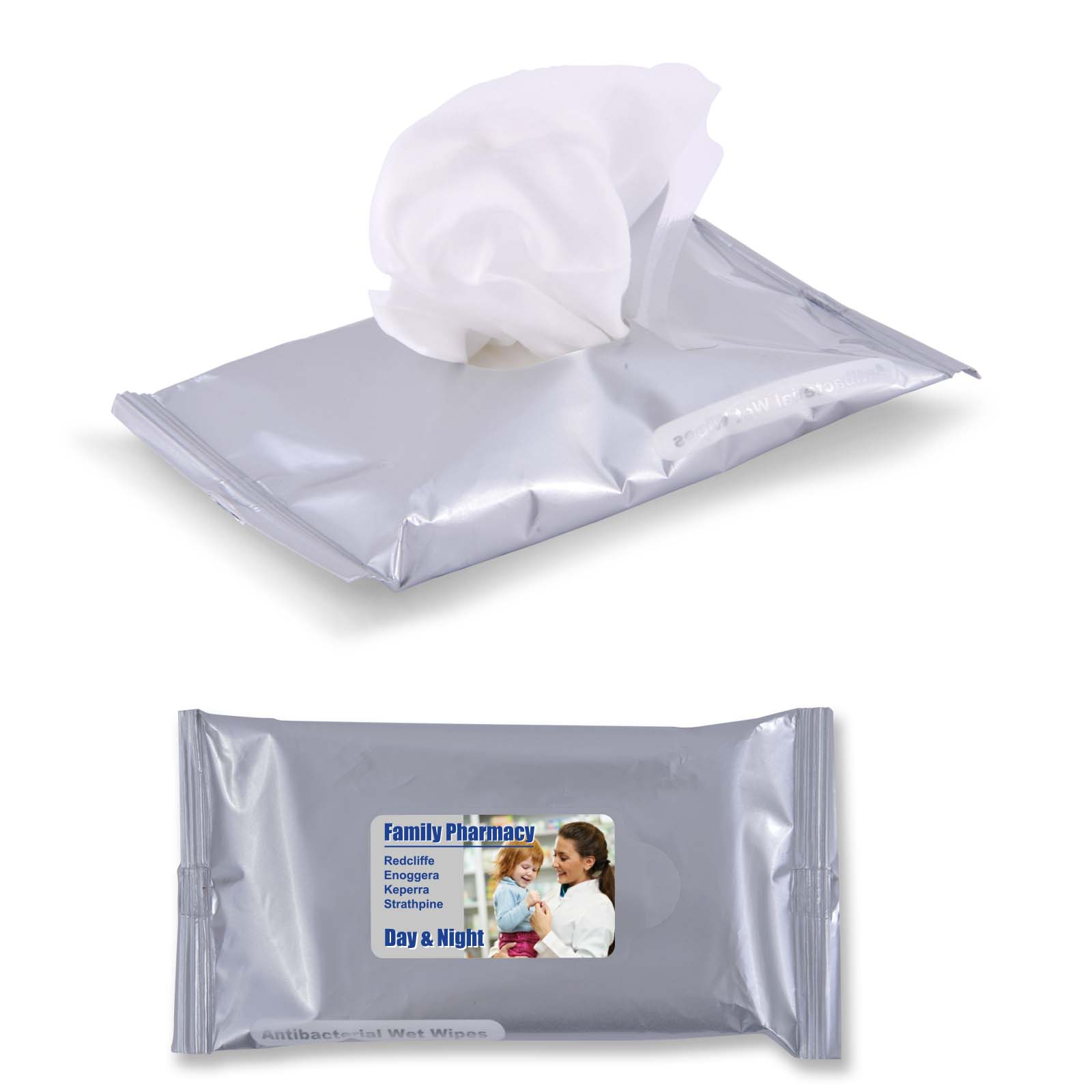 H2O Wet Wipes - 1 Pos Digital Label