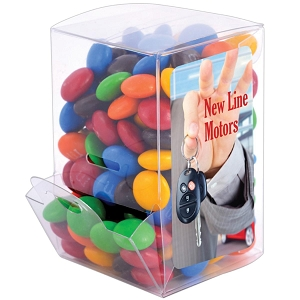 M&M's in Mini Confectionery Dispenser - Includes a full colour logo, From $5.12