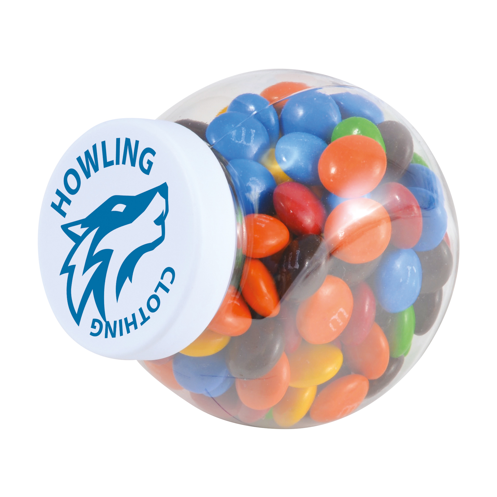 M&M's in Container - Includes a 1 colour printed logo