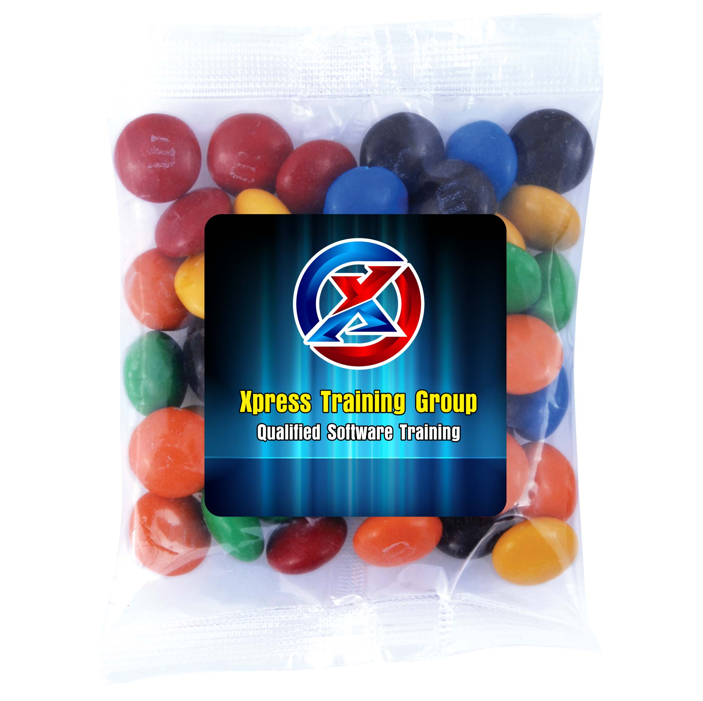 M&M's in 50 Gram Cello Bag - 1 Pos Digital Label