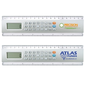 20cm Calculator / Ruler - Includes a 1 colour printed logo, From $3.68