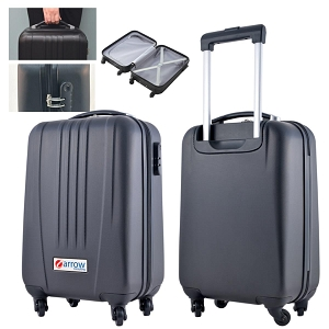 Spinner 4WD Carry On Suitcase - Includes full colour logo, From $39.4