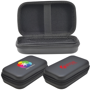 Medium EVA Zipper Case 50mmH - Includes a 1 colour printed logo