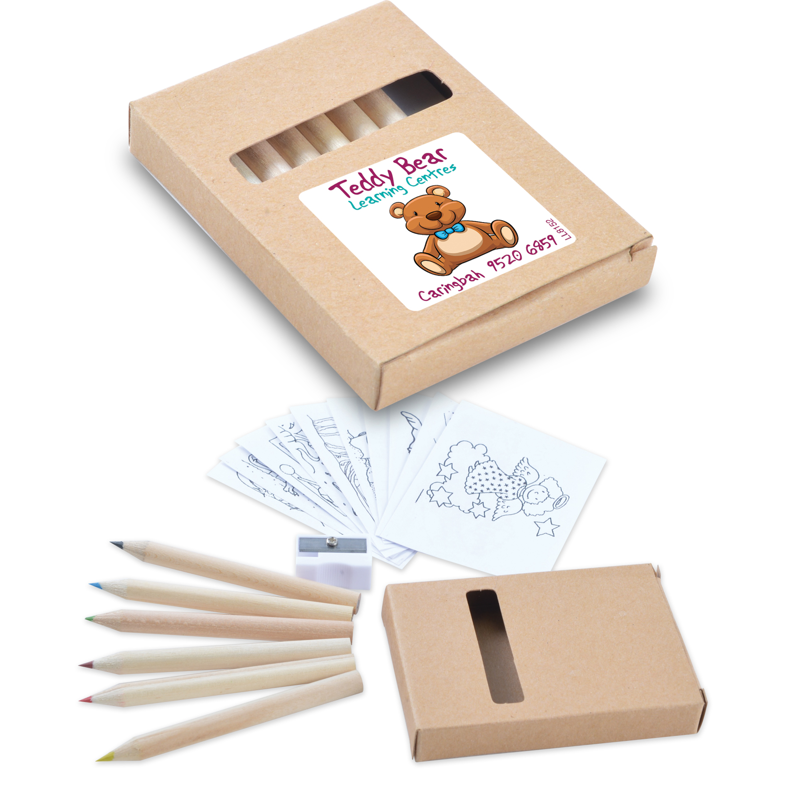Activity Pencil Set - Includes a full colour logo, From $0.87