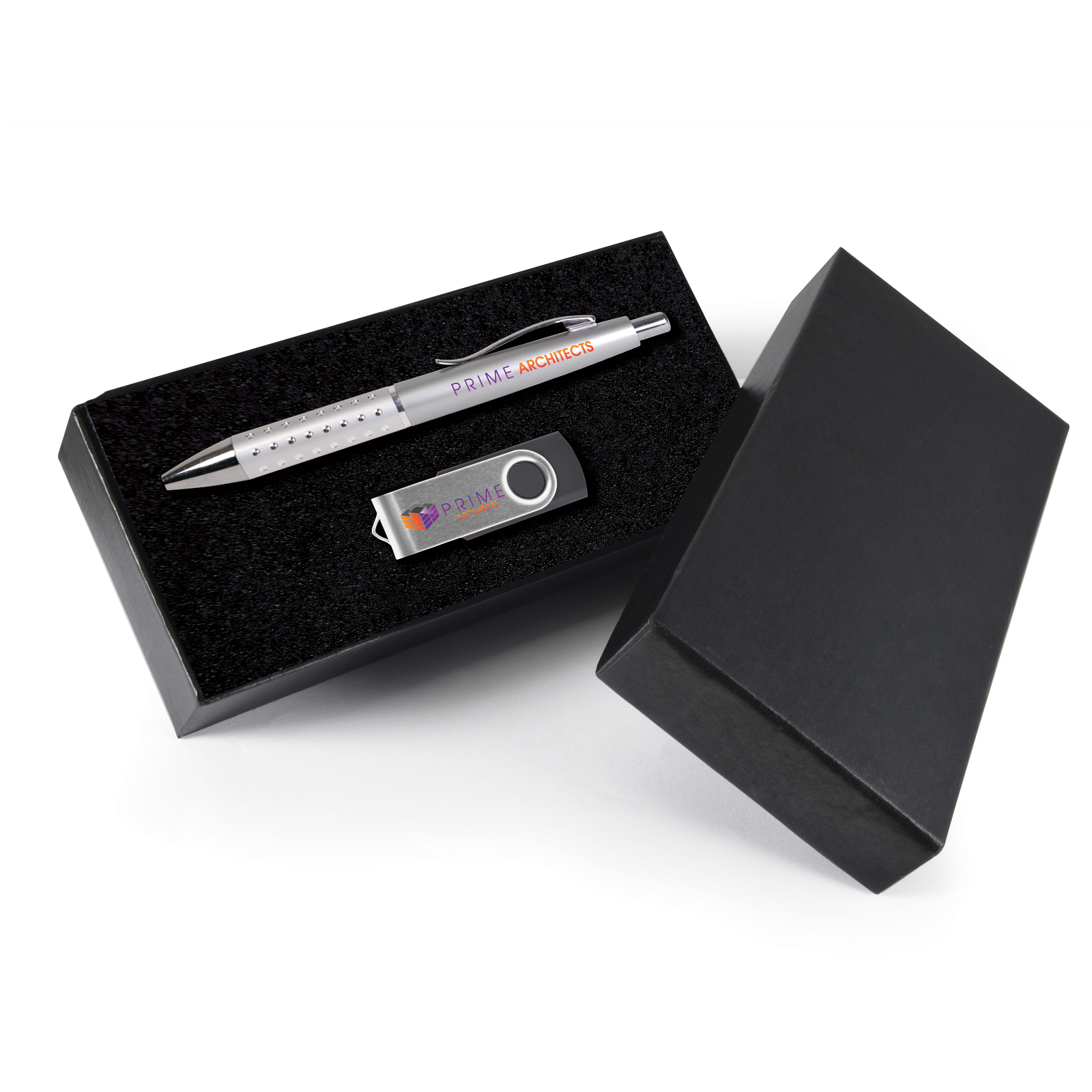 Symphony Gift Set - 2 Pos Digital Print - Pen + Flash Drive