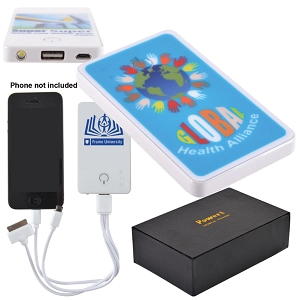 Photo Tablet Power Bank - Includes a 1 colour printed logo, From $24.8