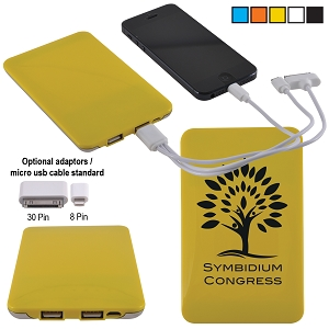 Maxi Fuse Power Bank - Includes a 1 colour printed logo