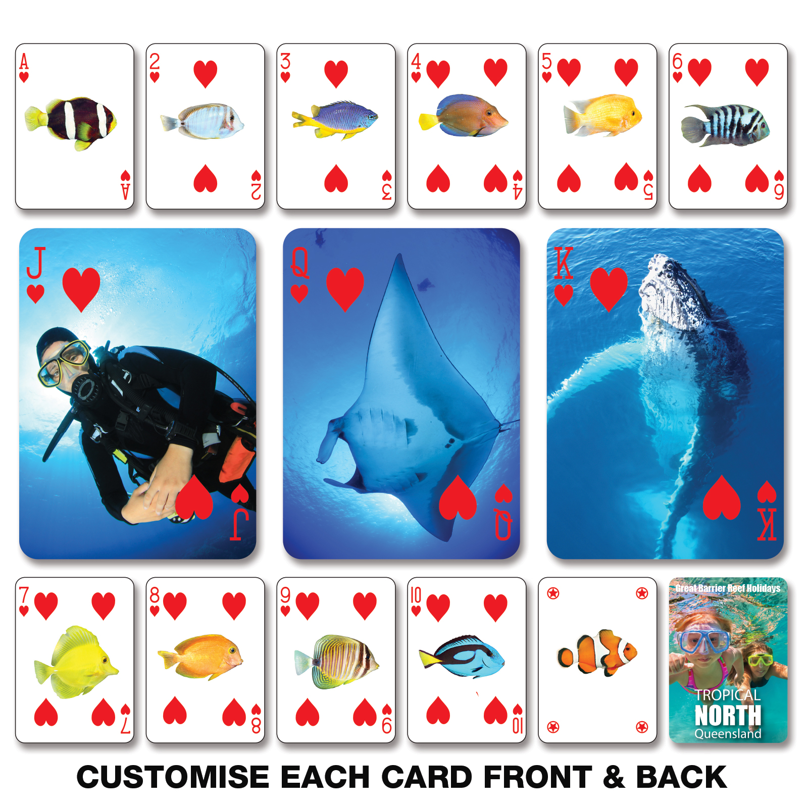 Playing Cards - Includes full colour logo, From $3.17