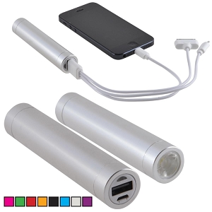 Thread Power Bank - Includes a 1 colour printed logo