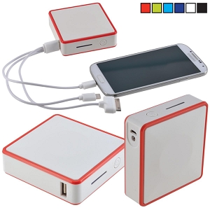 Pocket Power Bank - Includes a 1 colour printed logo