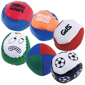 PVC Hacky Sack / Juggling Ball - Includes a 1 colour printed logo