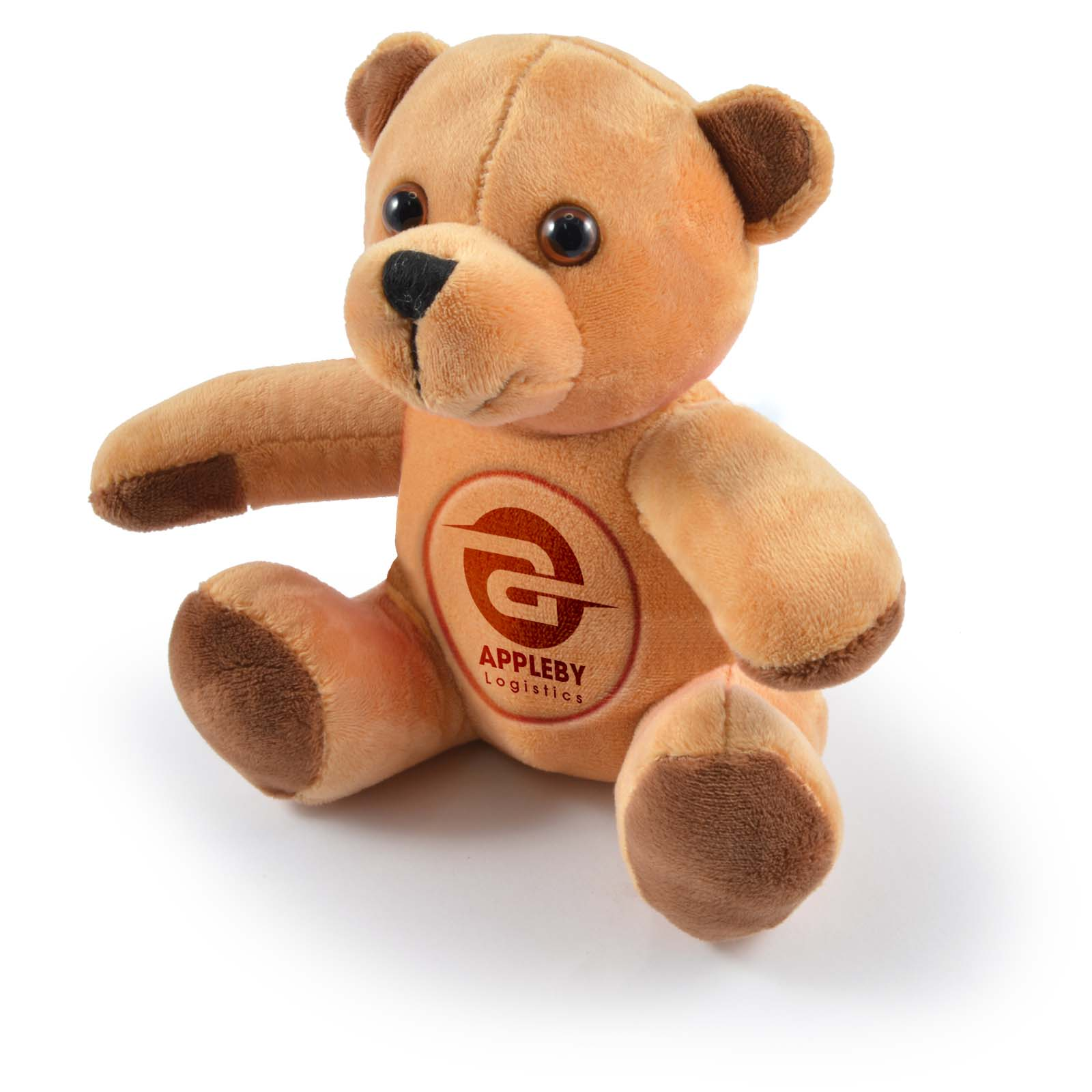 Honey Plush Teddy Bear - Includes embroidered logo, From $5.79