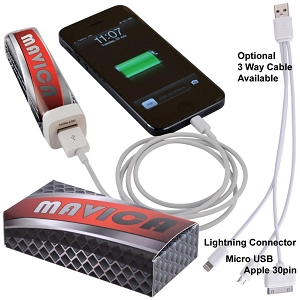 Essential Mobile Phone Power Bank - Includes a 1 colour printed logo