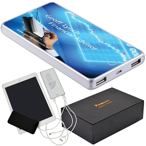Elite Tablet Power Bank - Includes full colour logo